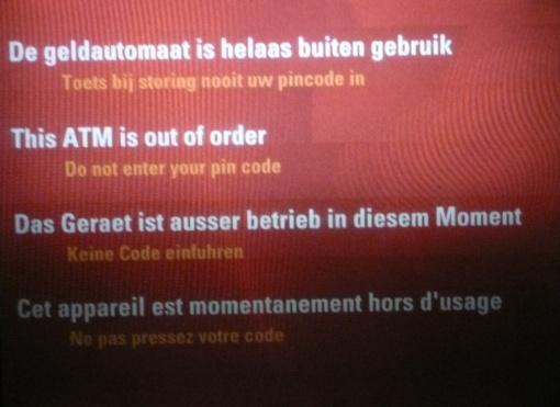 Niederländischer Geldautomat 2