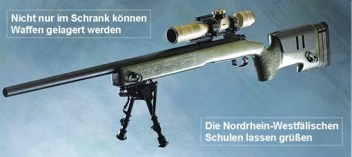 Satire Waffen