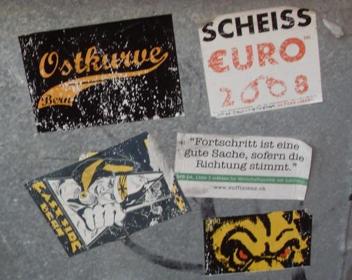 Sticker Sammlung